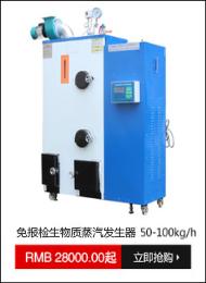 免报检生物质蒸汽发生器